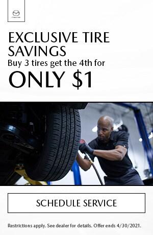 Exclusive Tire Savings
