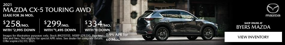 2021 Mazda CX-5 Touring AWD
