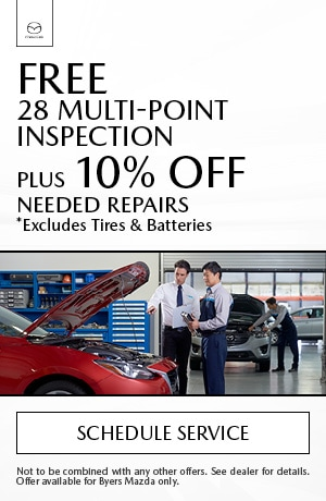 Free 28 Multi-Point Inspection & 10% Off Any Needed Repairs