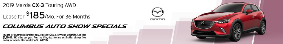 2019 Mazda CX-3 Lease - March