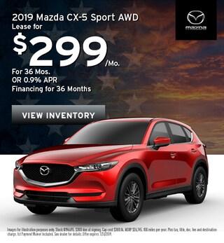 2019 Mazda CX-5 SUV - Lease
