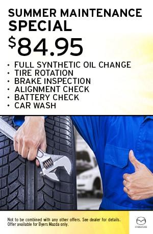 Summer Maintenance Specials