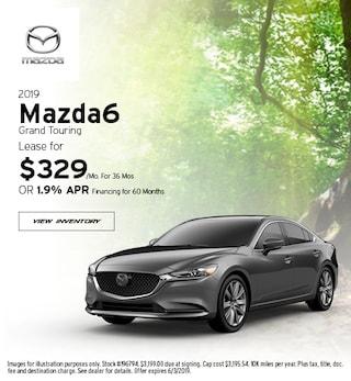 2019 Mazda6 Grand Touring - Lease