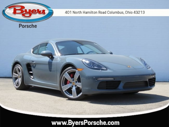 New 2018 Porsche 718 Cayman S Coupe in Columbus