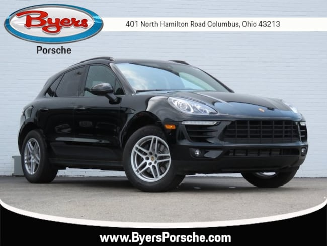 New 2018 Porsche Macan SUV in Columbus