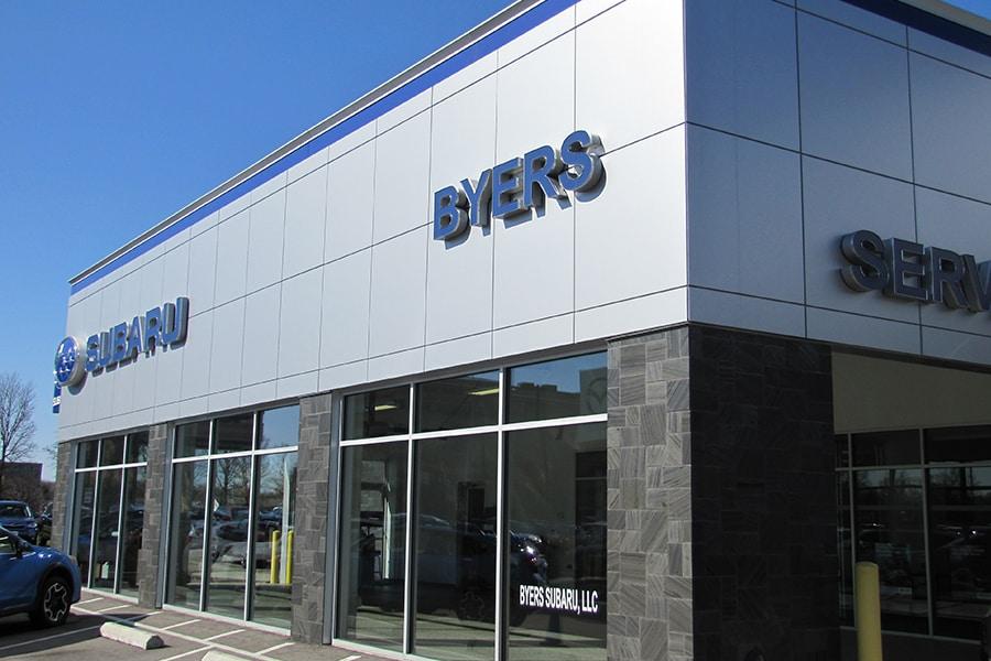 Byers Subaru Dublin in Columbus, OH