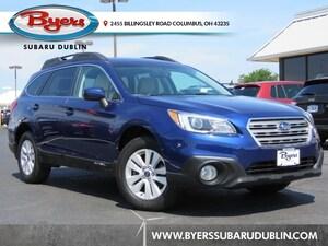 2015 Subaru Outback 2.5i Premium w/ Moonroof/Power Rear Gate