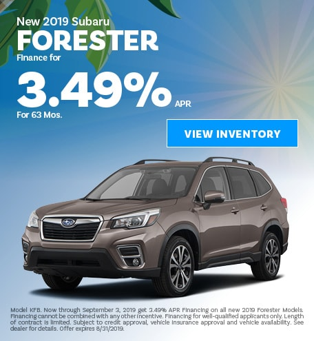 August | 2019 Forester