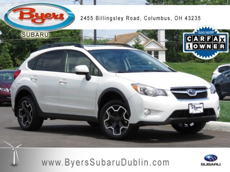 2014 Subaru Xv Crosstrek 2.0I Premium >> Used 2014 Subaru Xv Crosstrek 2 0i Premium For Sale In Columbus Oh