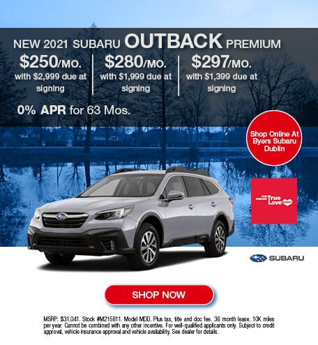 New 2021 Subaru Outback Premium