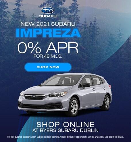 New 2021 Subaru Impreza
