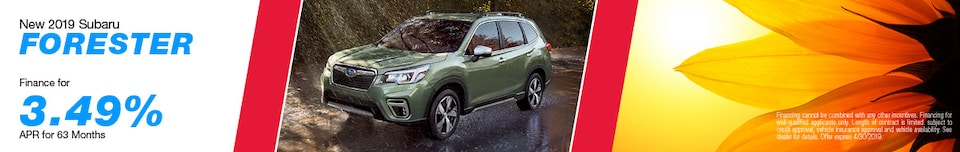 2019 Subaru Forester - APR