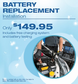 Battery Replacement Installation