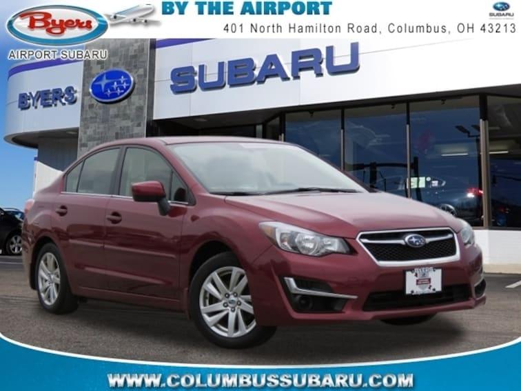 Used 2016 Subaru Impreza 2.0i Sedan in Columbus