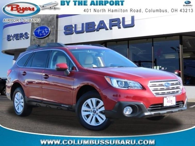 Used 2017 Subaru Outback 2.5i Premium with SUV in Columbus