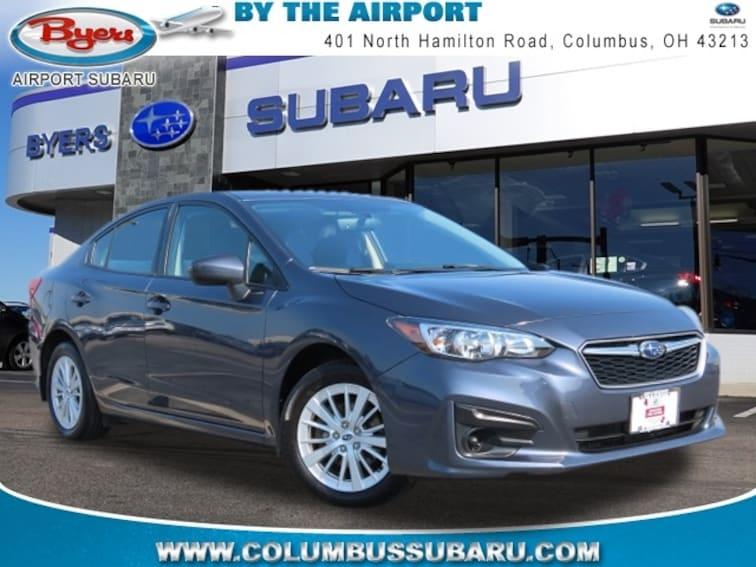 Used 2017 Subaru Impreza 2.0i Premium Sedan in Columbus