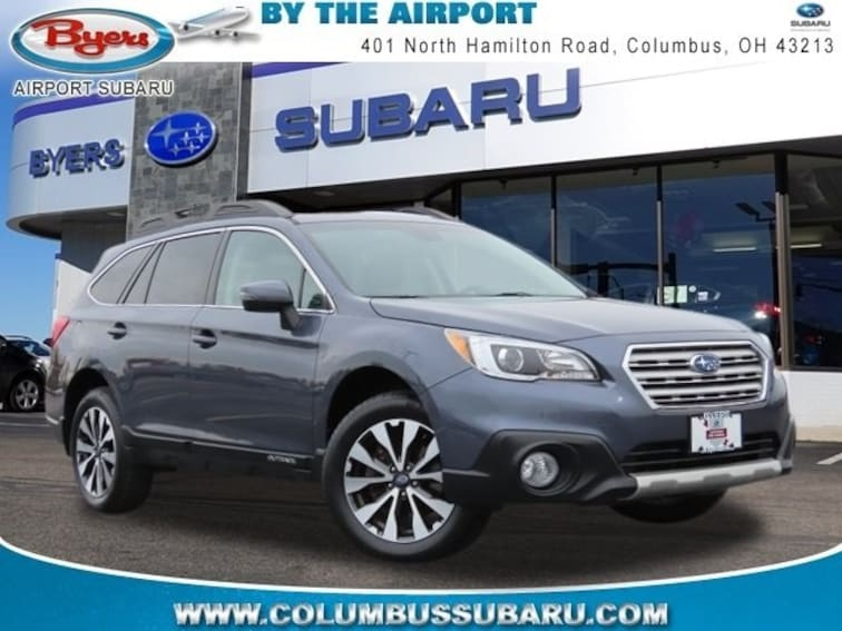 Used 2017 Subaru Outback 2.5i Limited with SUV in Columbus