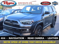 Used 2019 Toyota 4Runner Limited Nightshade SUV For Sale in Delaware, OH