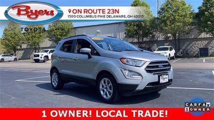 Used 2018 Ford EcoSport SE SUV for Sale in Delaware, OH