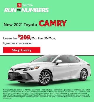 New 2021 Toyota Camry