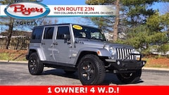 Used 2015 Jeep Wrangler Unlimited Sahara 4x4 SUV For Sale in Delaware, OH