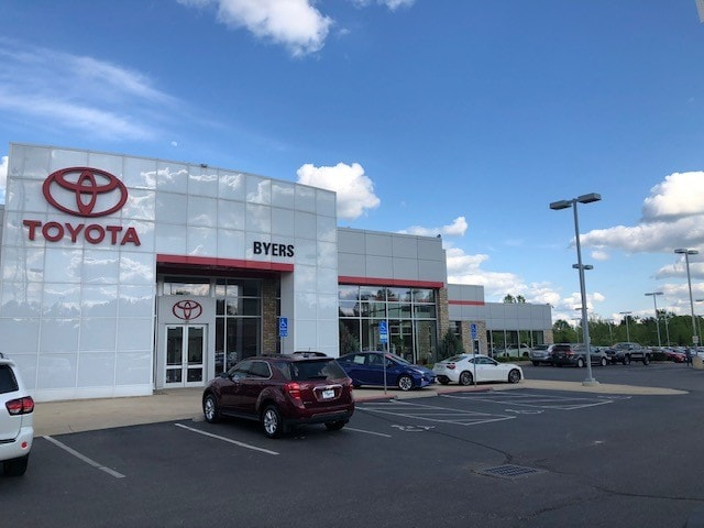 Byers Toyota Dealership in Delaware, OH