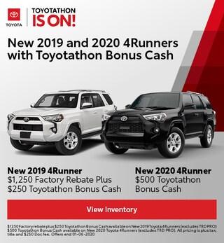 Toyota 4Runner Bonus Cash