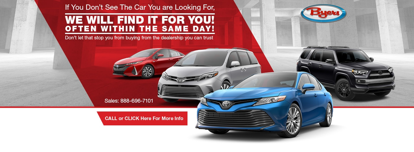 Cars For Sale In Delaware >> Byers Toyota Delaware Oh Toyota Dealer Serving Columbus