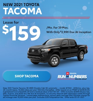 New 2021 Toyota Tacoma