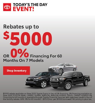 Rebates up to $5000