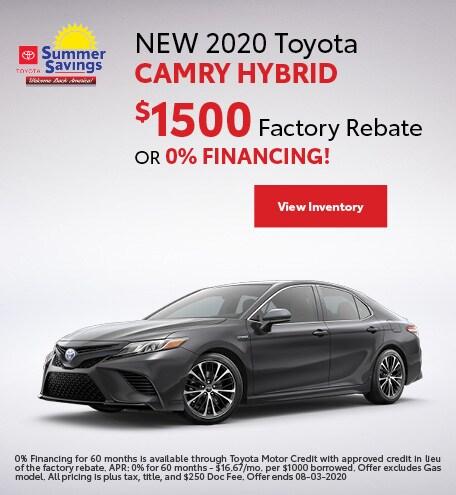 NEW 2020 Toyota Camry Hybrid