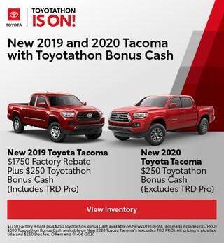 Toyota Tacoma Bonus Cash