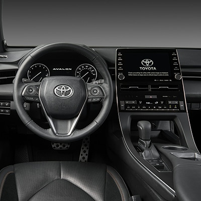 Toyota Avalon Driver Interior