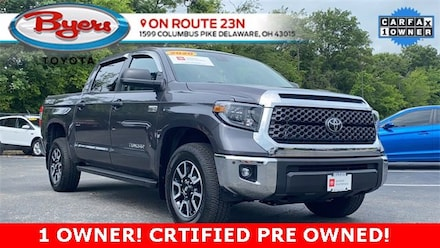Used 2020 Toyota Tundra SR5 5.7L V8 Truck CrewMax for Sale in Delaware, OH