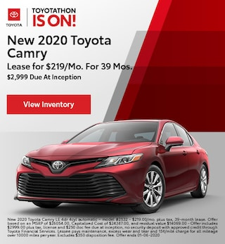 2020 Toyota Camry - Lease
