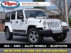 Used 2018 Jeep Wrangler JK Unlimited Sahara 4x4 SUV For Sale in Delaware, OH