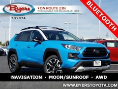 New 2019 Toyota RAV4 Adventure SUV For Sale in Delaware, OH