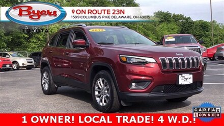Used 2019 Jeep Cherokee Latitude Plus 4x4 SUV for Sale in Delaware, OH