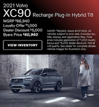 2021 Volvo XC90 Recharge Plug-In Hybrid T8