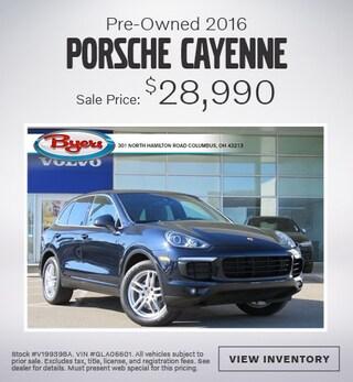 Pre-Owned 2016 Porsche Cayenne