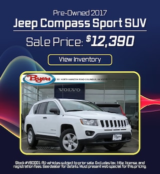 Pre-Owned 2017 Jeep Compass Sport SUV