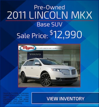 Pre-Owned 2011 Lincoln MKX Base SUV