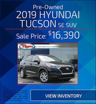 Pre-Owned2019 Hyundai Tucson SE SUV