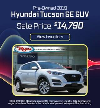 Pre-Owned 2019 Hyundai Tucson SE SUV