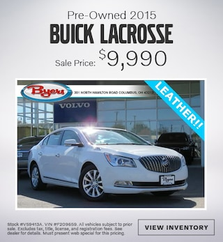 Pre-Owned 2015 Buick Lacrosse