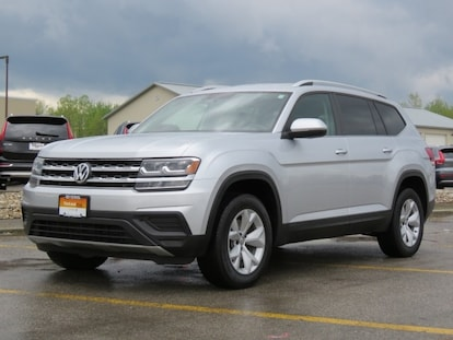 Used 2018 Volkswagen Atlas For Sale at Byers Imports | VIN