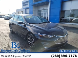Used 2018 Chevrolet Malibu LT Sedan in Ligonier, IN