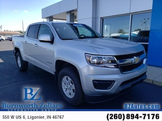 Certified Used 2017 Chevrolet Colorado WT Truck Crew Cab in Ligonier, IN