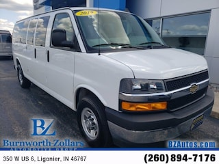 Used 2019 Chevrolet Express 3500 LT Van Extended Passenger Van in Ligonier, IN