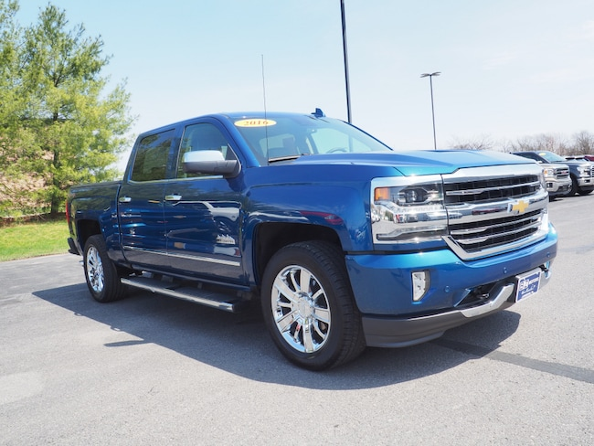 Used 2016 Chevrolet Silverado 1500 High Country 4x4 High Country  Crew Cab 5.8 ft. SB Lewisburg, PA